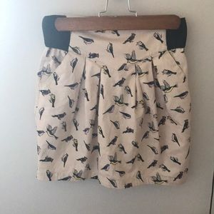 H&M Divided - Bird print skirt